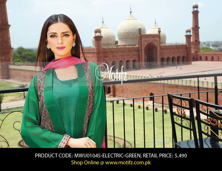 Motifz Embroidered Chiffon Eid Festival Collection 2015 with Prices (1)