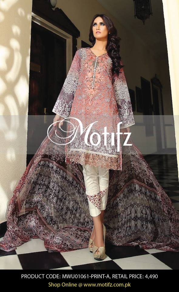 Motifz Embroidered Chiffon Eid Festival Collection 2015 with Prices (14)