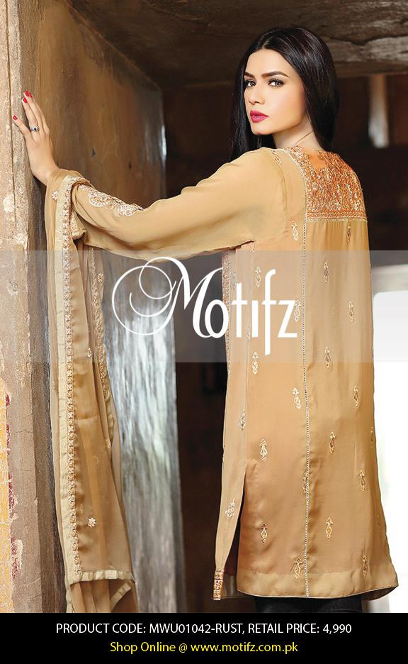 Motifz Embroidered Chiffon Eid Festival Collection 2015 with Prices (17)