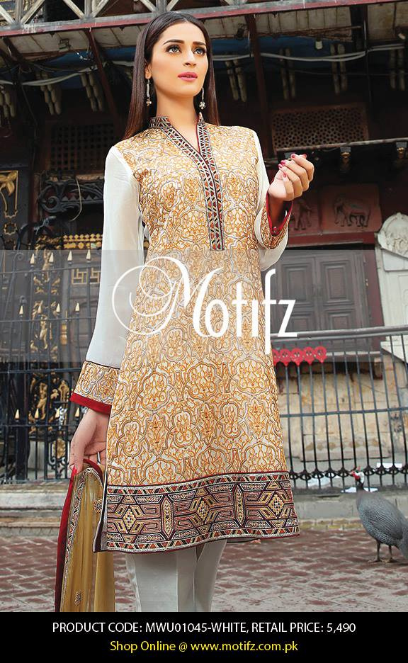 Motifz Embroidered Chiffon Eid Festival Collection 2015 with Prices (18)