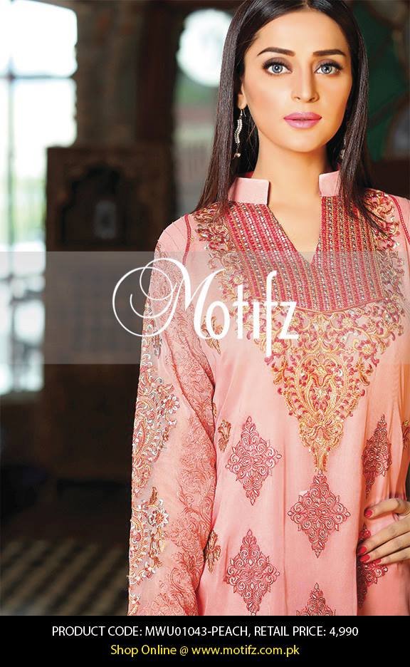 Motifz Embroidered Chiffon Eid Festival Collection 2015 with Prices (19)