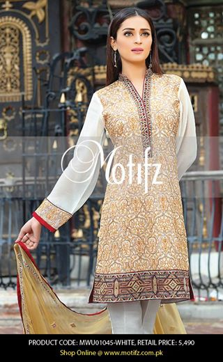 Motifz Embroidered Chiffon Eid Festival Collection 2015 with Prices (22)