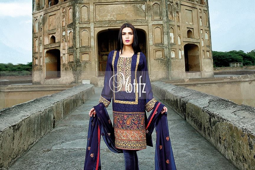 Motifz Embroidered Chiffon Eid Festival Collection 2015 with Prices (24)