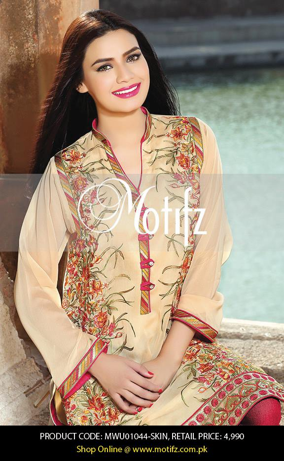 Motifz Embroidered Chiffon Eid Festival Collection 2015 with Prices (26)