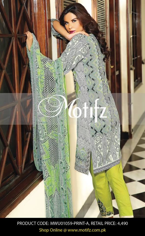 Motifz Embroidered Chiffon Eid Festival Collection 2015 with Prices (27)