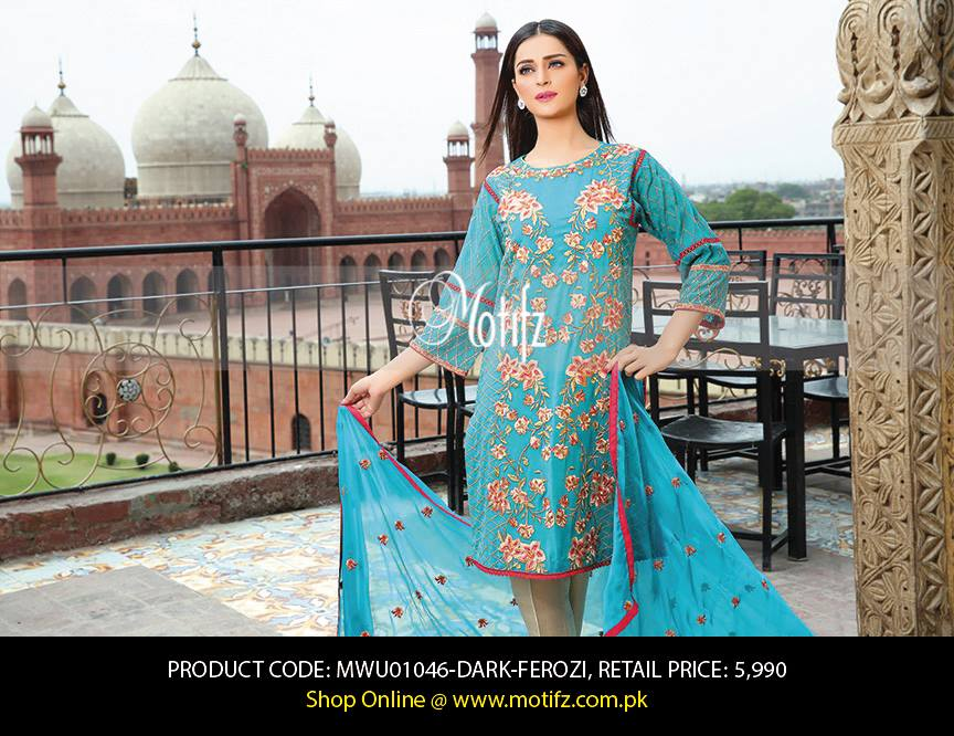 Motifz Embroidered Chiffon Eid Festival Collection 2015 with Prices (28)