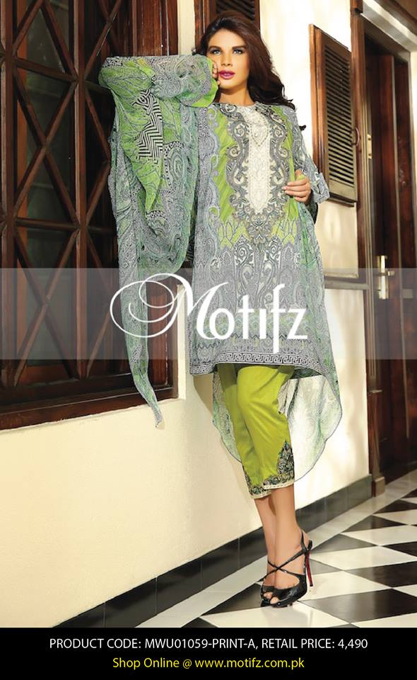 Motifz Embroidered Chiffon Eid Festival Collection 2015 with Prices (29)