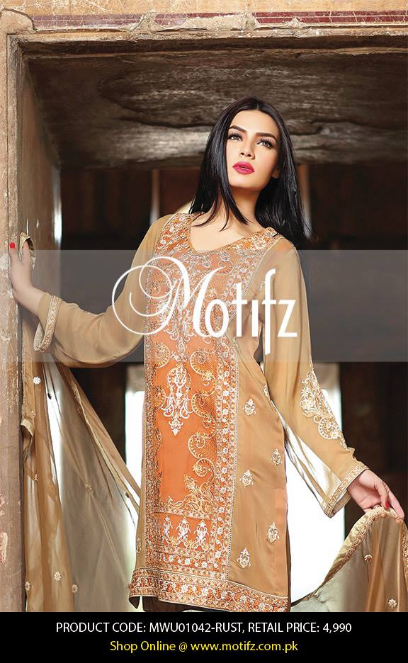 Motifz Embroidered Chiffon Eid Festival Collection 2015 with Prices (32)
