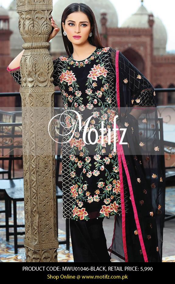 Motifz Embroidered Chiffon Eid Festival Collection 2015 with Prices (33)