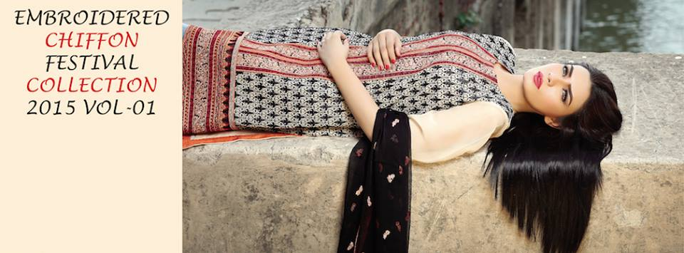 Motifz Embroidered Chiffon Eid Festival Collection 2015 with Prices (9)