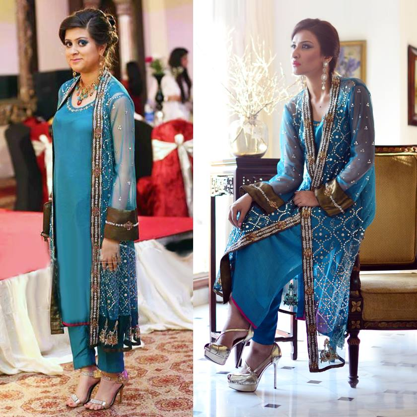 Nadia Farooqui Latest Eid Wear Dresses Formal Collection for Women 2015-2016 (10)