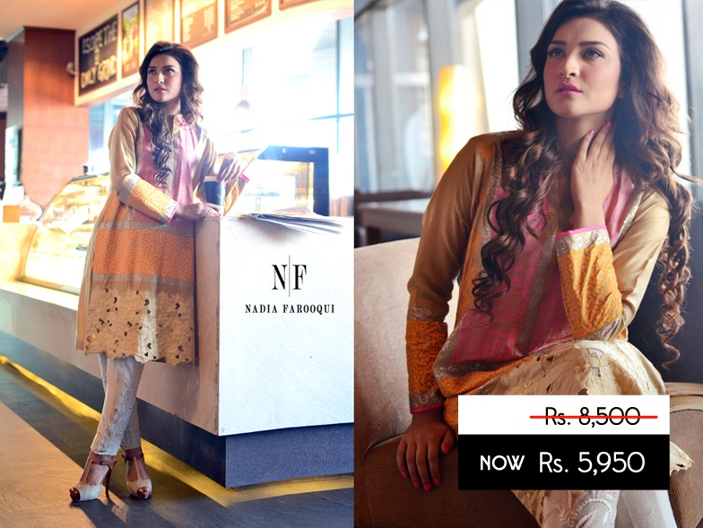Nadia Farooqui Latest Eid Wear Dresses Formal Collection for Women 2015-2016 (18)