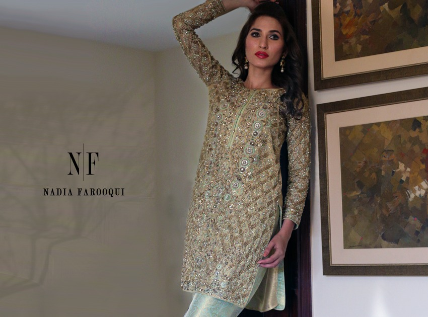 Nadia Farooqui Latest Eid Wear Dresses Formal Collection for Women 2015-2016 (21)