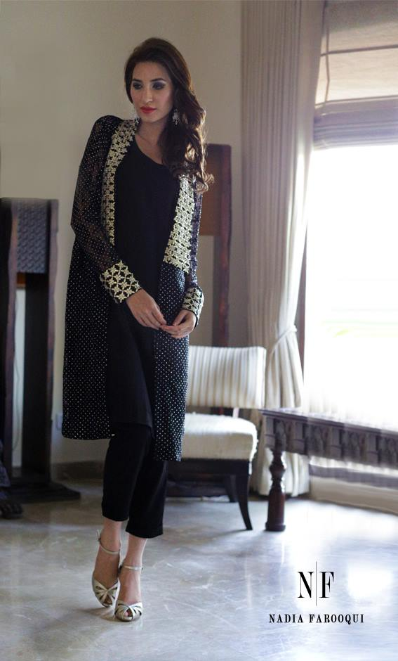 Nadia Farooqui Latest Eid Wear Dresses Formal Collection for Women 2015-2016 (4)