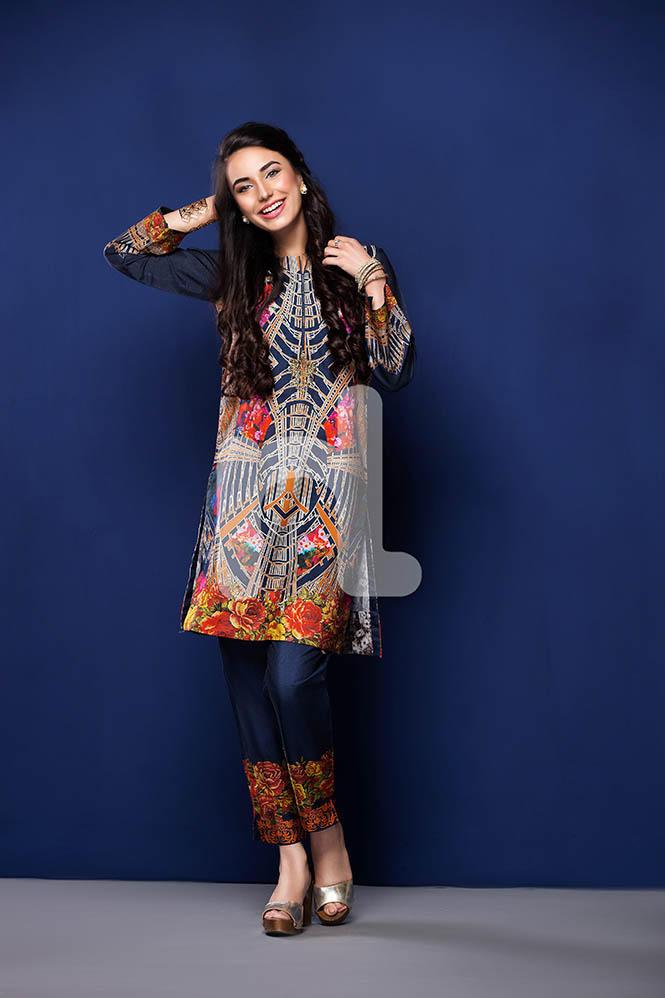Nisha by Nishat Linen Colorful Tunics & Kurtis Pret Eid Collection 2016-2017 (1)