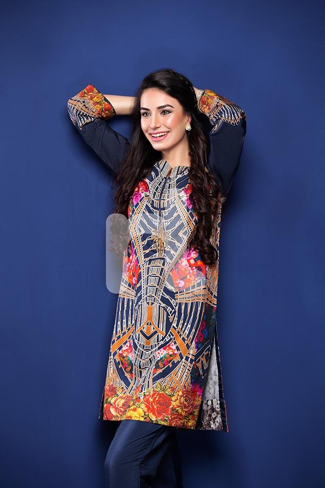 Nisha by Nishat Linen Colorful Tunics & Kurtis Pret Eid Collection 2016-2017 (2)