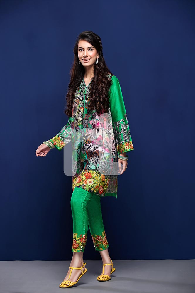 Nisha by Nishat Linen Colorful Tunics & Kurtis Pret Eid Collection 2016-2017 (3)