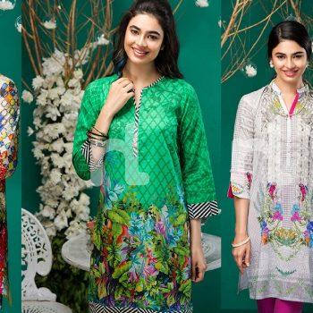Latest Eid Kurti Tunics Designs NL Pret Collection 2017-2018
