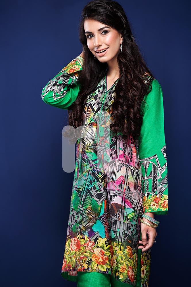 Nisha by Nishat Linen Colorful Tunics & Kurtis Pret Eid Collection 2016-2017 (4)