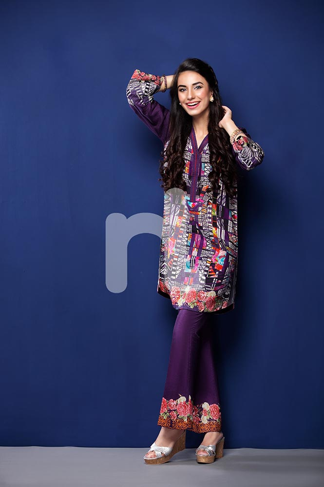 Nisha by Nishat Linen Colorful Tunics & Kurtis Pret Eid Collection 2016-2017 (9)