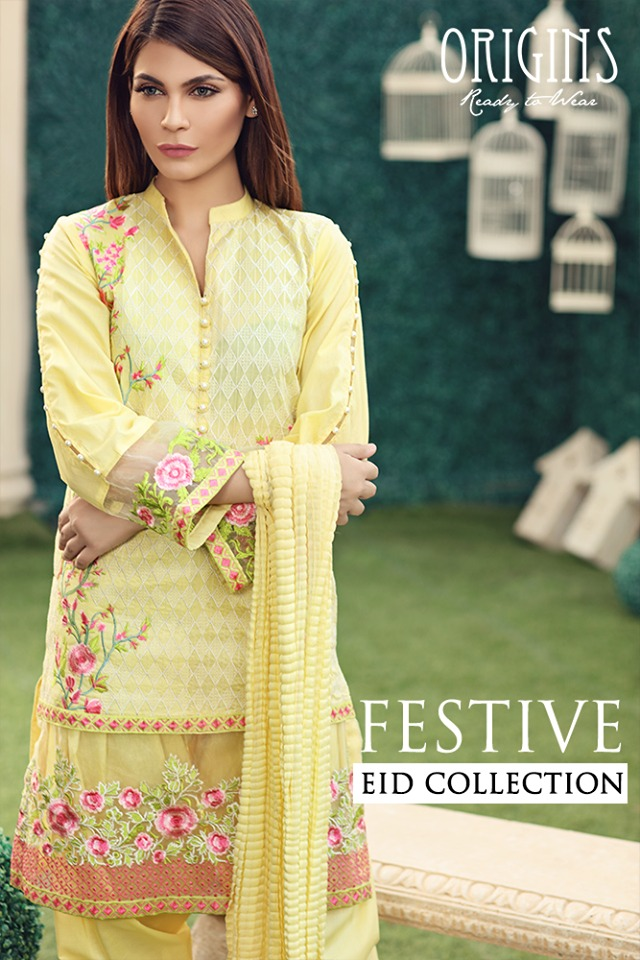 Origins Fancy Dresses Eid Festive Collection 2016-2017 for Girls (1)