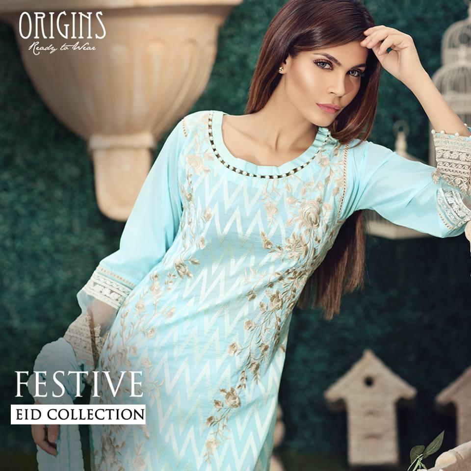 Origins Fancy Dresses Eid Festive Collection 2016-2017 for Girls (1)