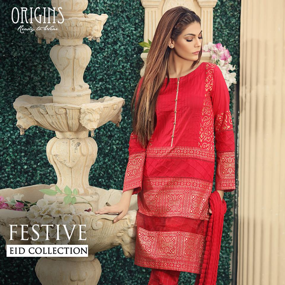 Origins Fancy Dresses Eid Festive Collection 2016-2017 for Girls (19)