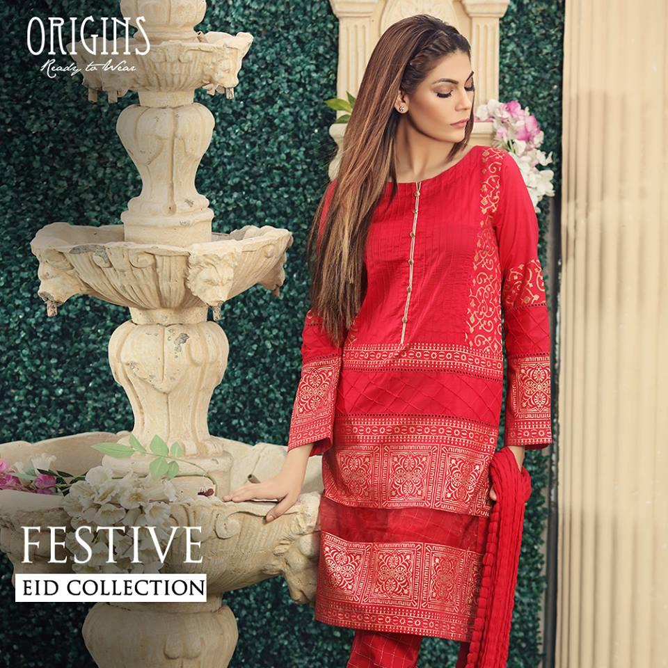 Origins Fancy Dresses Eid Festive Collection 2016-2017 for Girls (19)