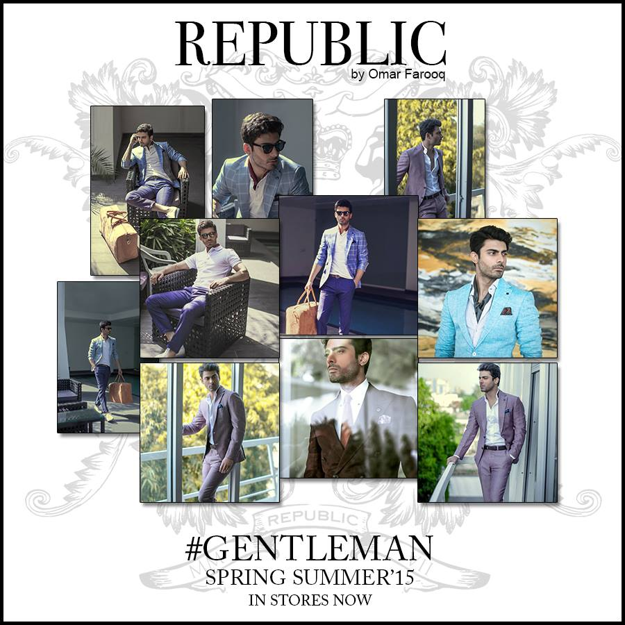 Republic By Omer Farooq Men Party Wear Suits Summer Collection 2015-2016 (10)
