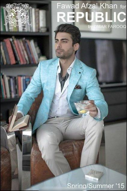 Republic By Omer Farooq Men Party Wear Suits Summer Collection 2015-2016 (17)