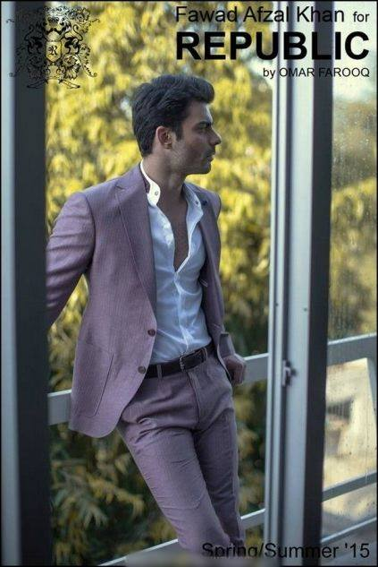 Republic By Omer Farooq Men Party Wear Suits Summer Collection 2015-2016 (20)