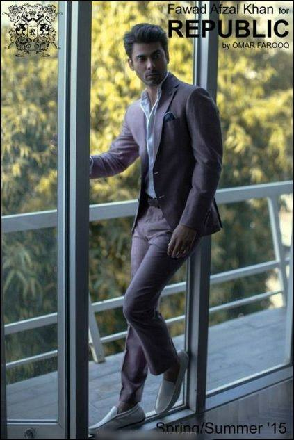 Republic By Omer Farooq Men Party Wear Suits Summer Collection 2015-2016 (24)