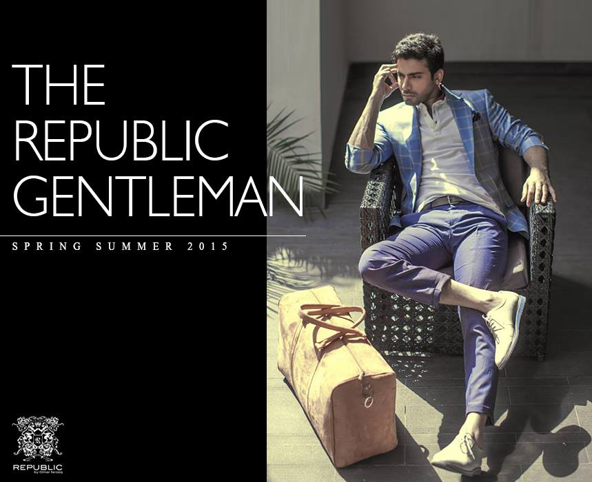 Republic By Omer Farooq Men Party Wear Suits Summer Collection 2015-2016 (25)