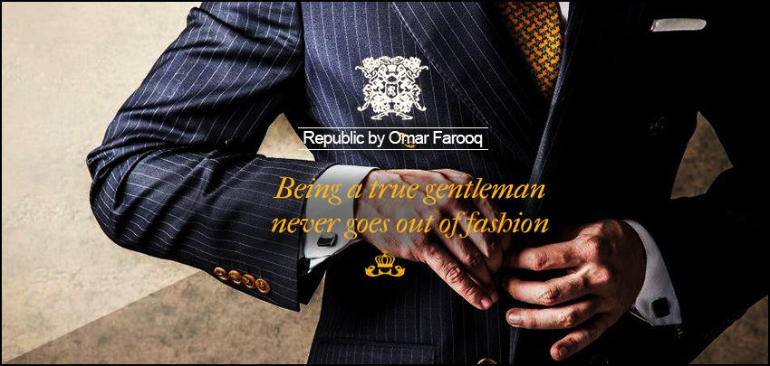 Republic By Omer Farooq Men Party Wear Suits Summer Collection 2015-2016 (29)