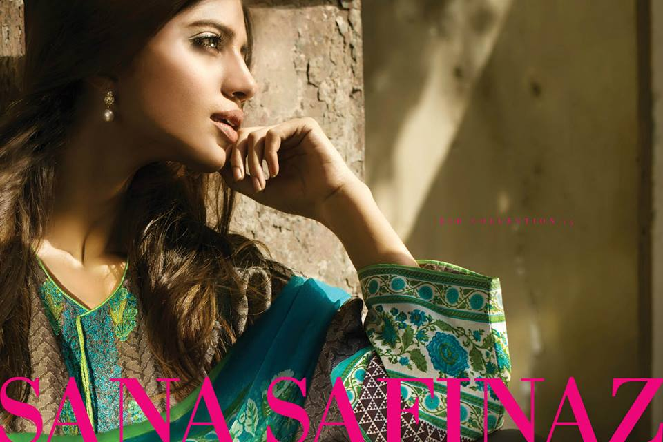 Sana Safinaz Luxurious Lawn Suits Eid Collection 2015-2016 (11)