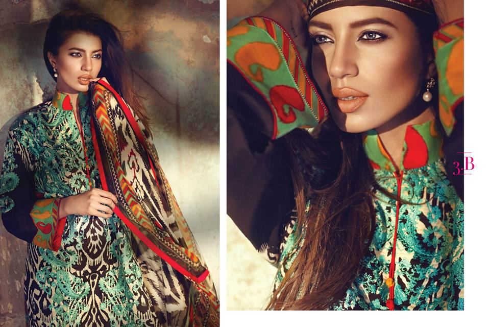 Sana Safinaz Luxurious Lawn Suits Eid Collection 2015-2016 (15)