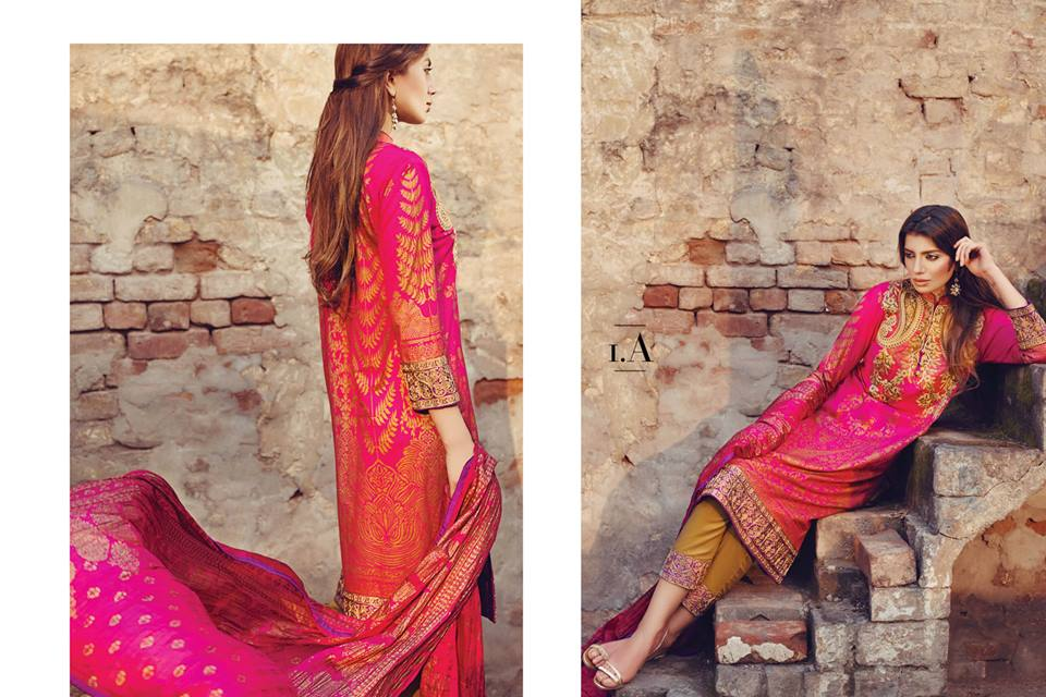Sana Safinaz Luxurious Lawn Suits Eid Collection 2015-2016 (17)