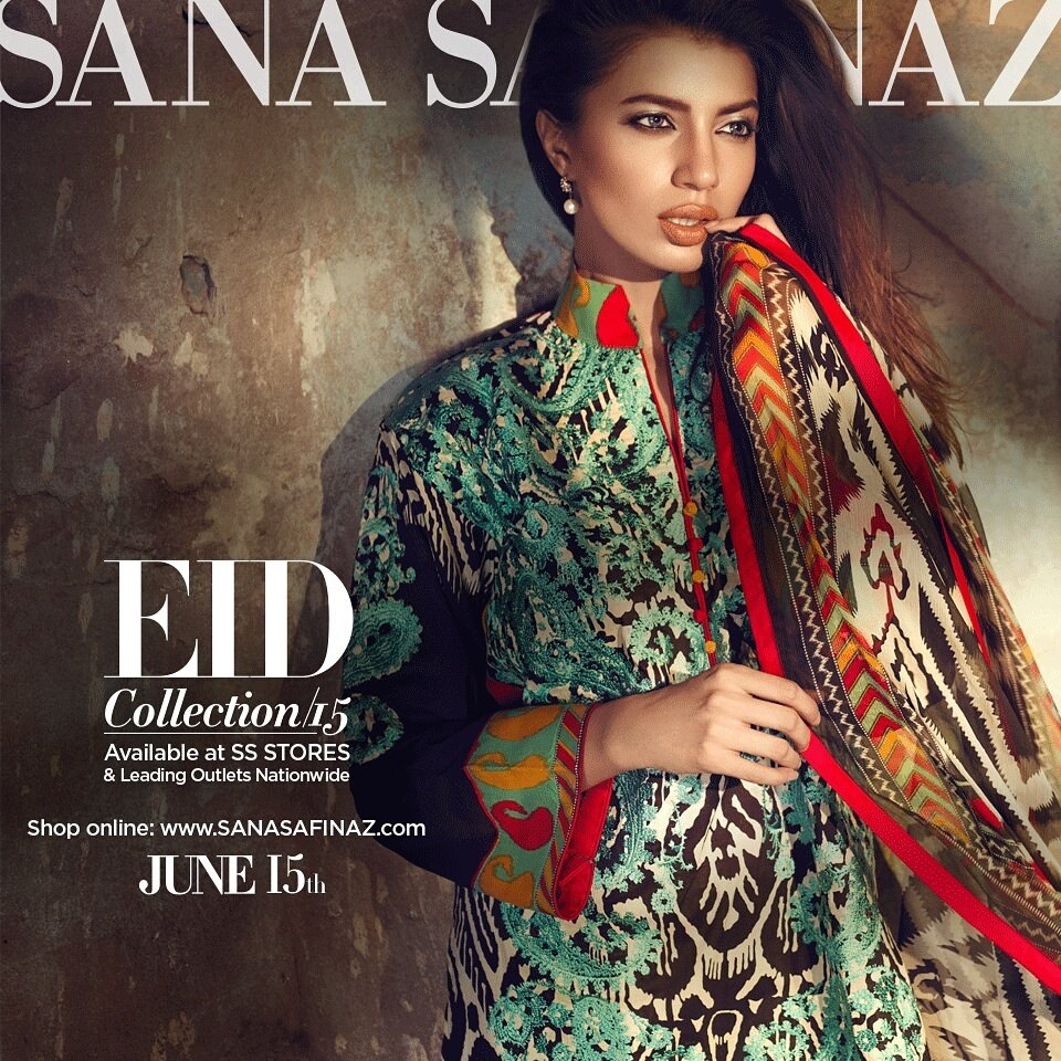 Sana Safinaz Luxurious Lawn Suits Eid Collection 2015-2016 (19)