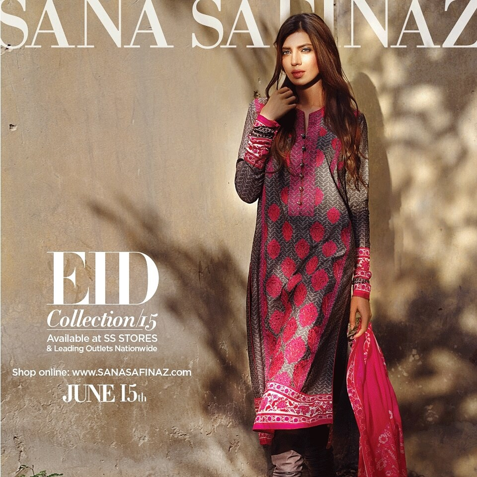 Sana Safinaz Luxurious Lawn Suits Eid Collection 2015-2016 (21)