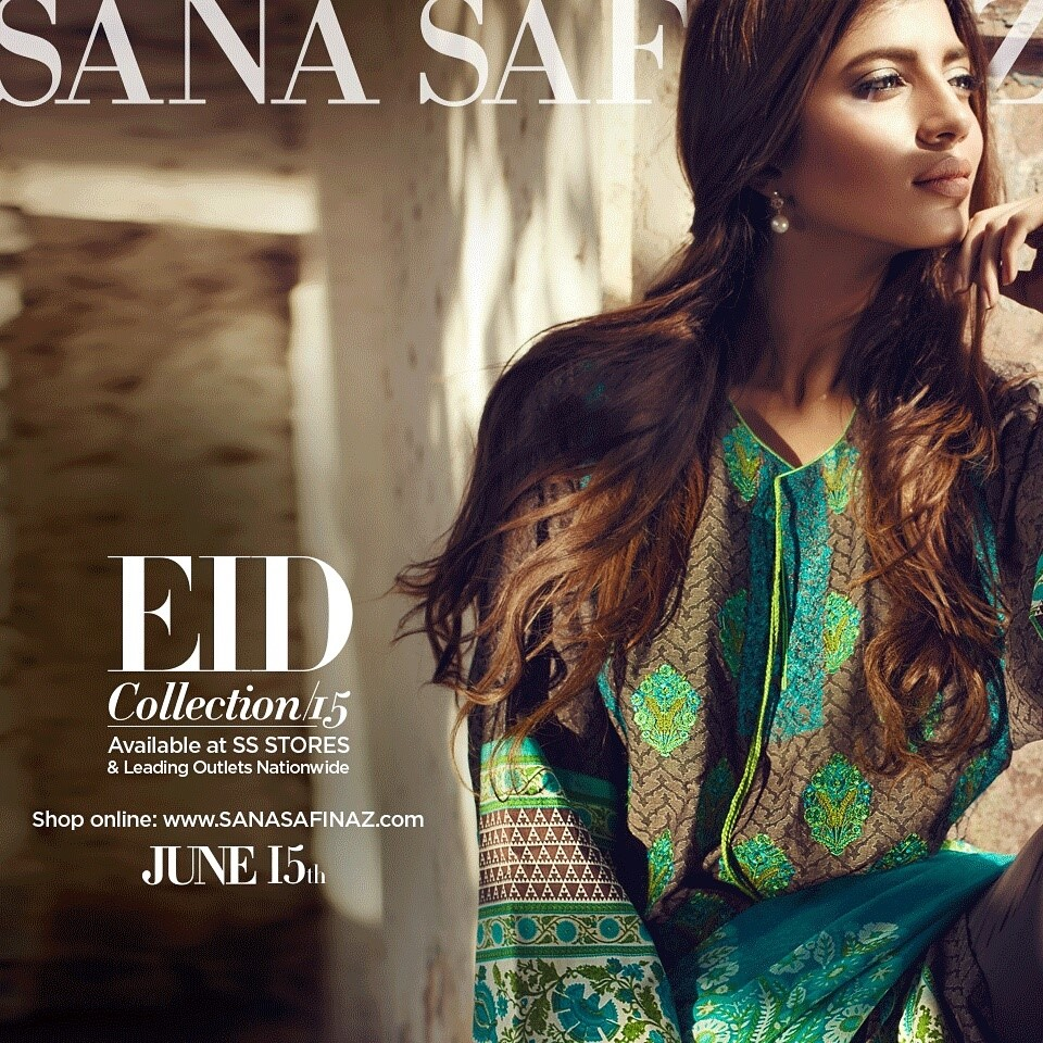 Sana Safinaz Luxurious Lawn Suits Eid Collection 2015-2016 (22)