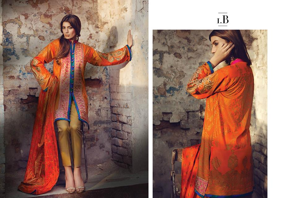 Sana Safinaz Luxurious Lawn Suits Eid Collection 2015-2016 (5)
