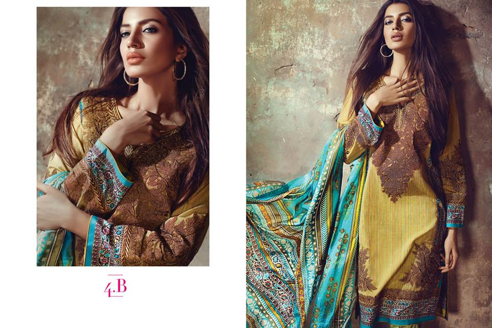 Sana Safinaz Luxurious Lawn Suits Eid Collection 2015-2016 (6)