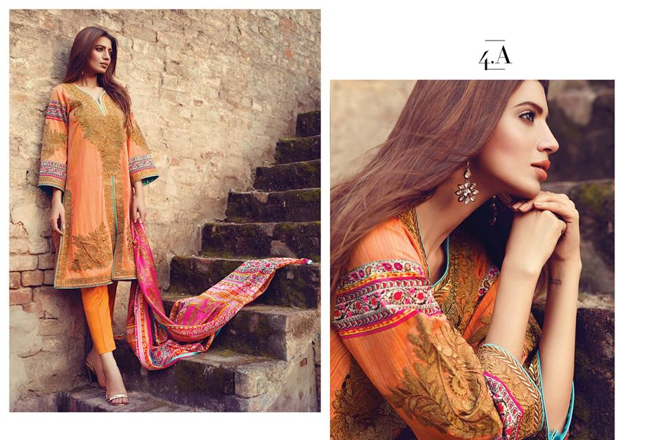 Sana Safinaz Luxurious Lawn Suits Eid Collection 2015-2016 (9)