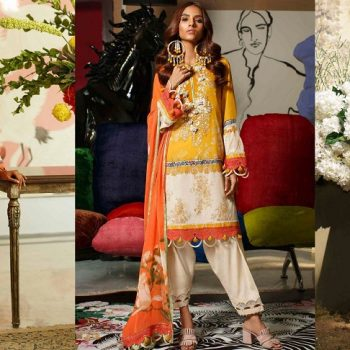 Sana Safinaz Stylish Lawn Suits Mahay Collection 2020 with Prices