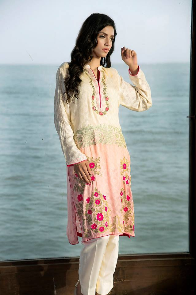 Zainab Hasan Chantilly De Lace Eid Formal Dresses Collection 2015-2016 (11)