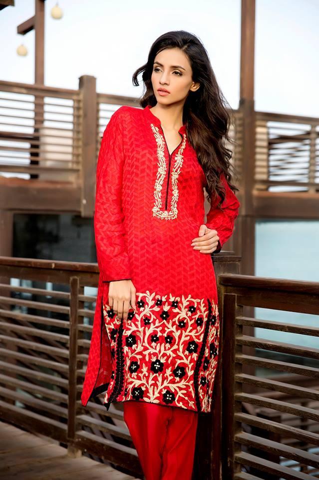 Zainab Hasan Chantilly De Lace Eid Formal Dresses Collection 2015-2016 (12)