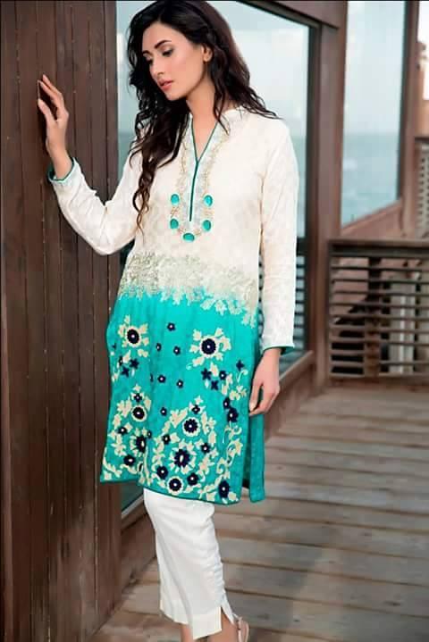 Zainab Hasan Chantilly De Lace Eid Formal Dresses Collection 2015-2016 (13)