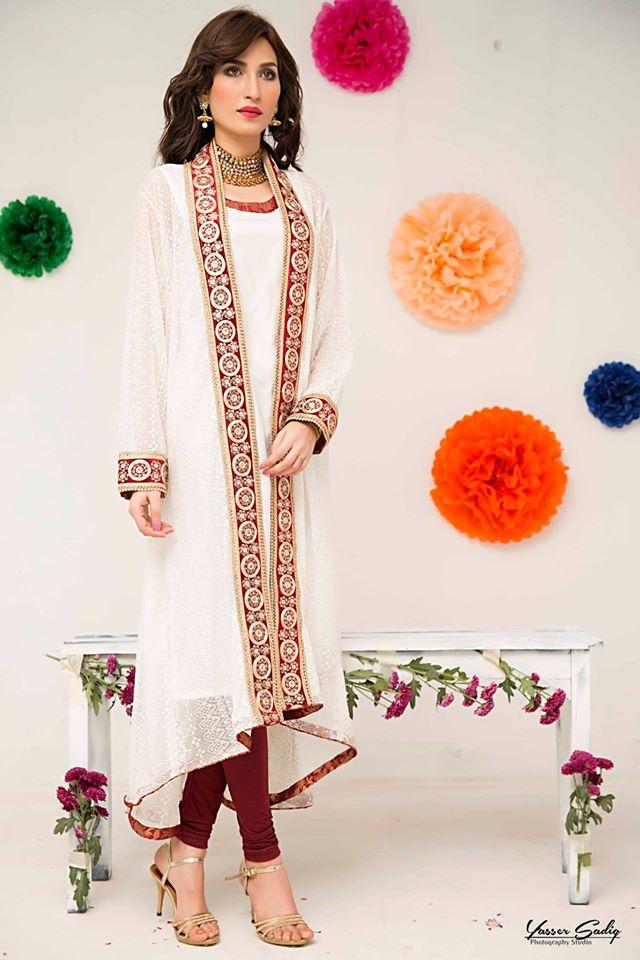 Zainab Hasan Chantilly De Lace Eid Formal Dresses Collection 2015-2016 (24)