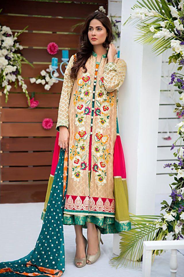 Zainab Hasan Chantilly De Lace Eid Formal Dresses Collection 2015-2016 (25)