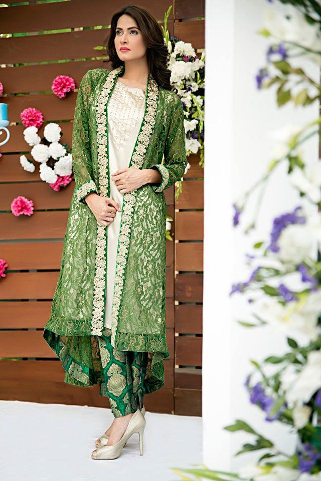 Zainab Hasan Chantilly De Lace Eid Formal Dresses Collection 2015-2016 (27)